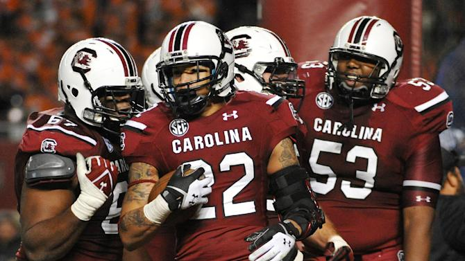 Shaw leads No. 10 South Carolina to 31-17 victory