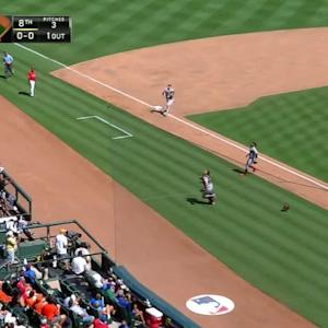 Posey's tough sliding catch