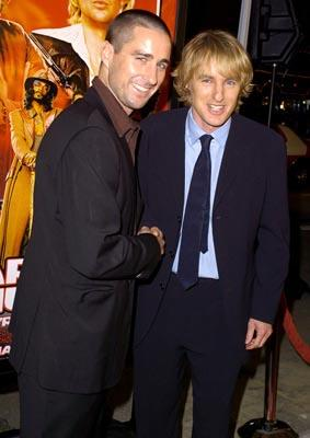 Luke Wilson and Owen Wilson at the LA premiere of Warner Bros.' Starsky & Hutch