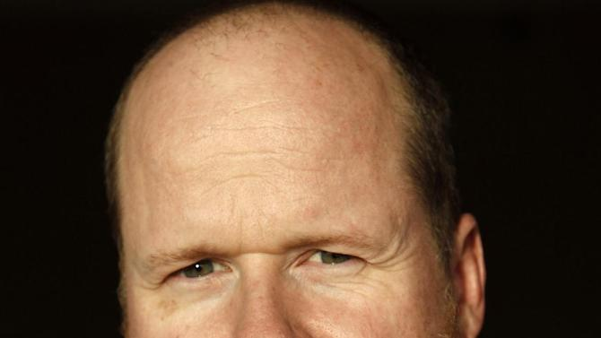 """In this April 12, 2012 photo, writer and director Joss Whedon, from the upcoming film """"The Avengers"""", poses for a portrait in Beverly Hills, Calif. The film will be released in theaters May 4. (AP Photo/Matt Sayles)"""