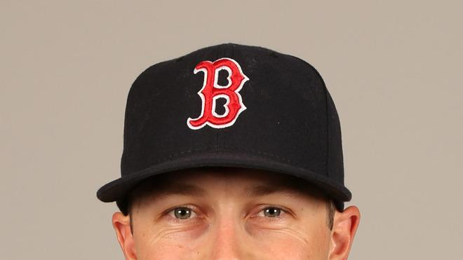 Daniel Nava Baseball Headshot Photo