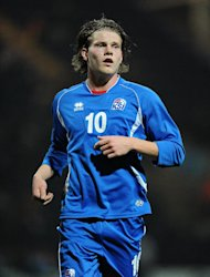 Bjorn Sigurdarson (pictured) will become Wolves manager Stale Solbakken&#39;s first signing