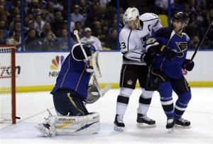 Jackman gives Blues 2-1 win over Kings, 2-0 lead