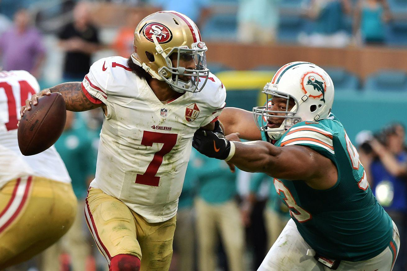 Colin Kaepernick is playing his way to a big payday 2017