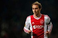 No agreement with Liverpool for Eriksen, say Ajax