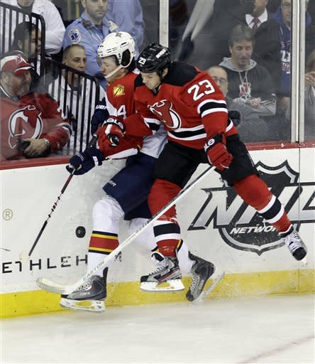 Clemmensen makes 27 saves, lifts Panthers over NJ