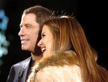 John Travolta and Kelly Preston at the Hollywood premiere of MGM's Be Cool