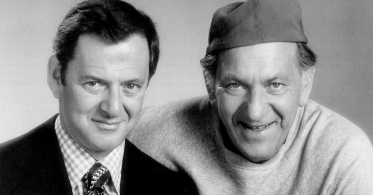 """The Cast of """"The Odd Couple"""" Then and Now"""