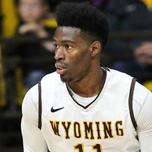 Wyoming's Derek Cooke, Jr. Shows Off On Senior Night