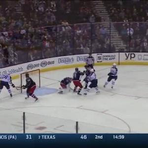 Sergei Bobrovsky Save on Jacob Trouba (07:55/3rd)