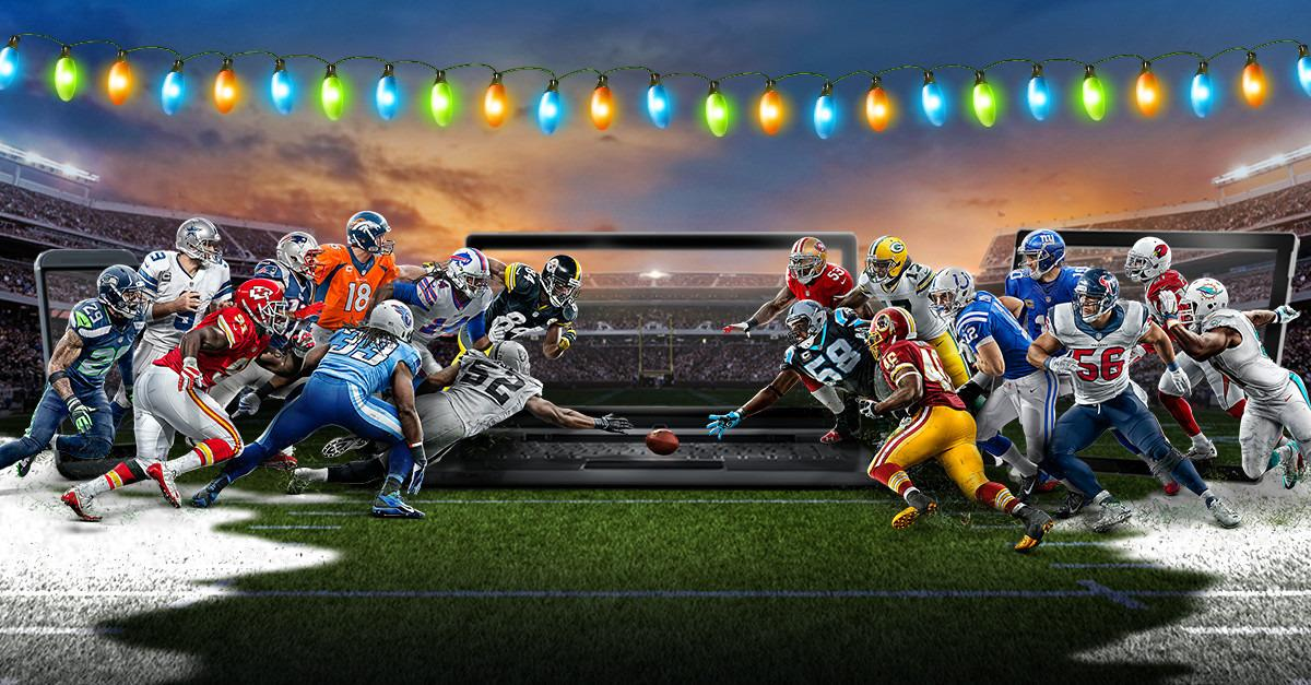 Stream NFL SUNDAY TICKET for the holidays