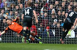 Aston Villa 1-2 Liverpool: Gerrard penalty keeps Lambert's men in the bottom three