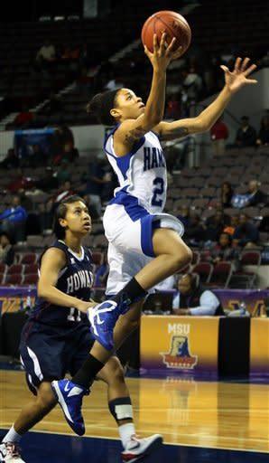 Hampton women defeat Howard 59-38 for MEAC title