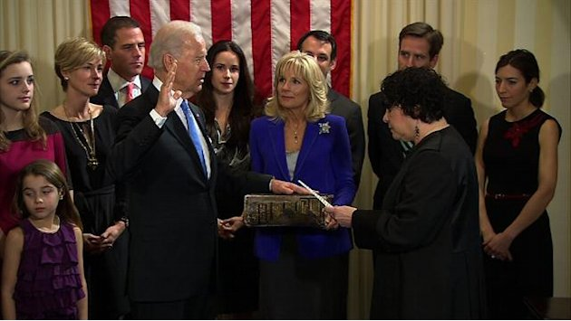 Vice President Biden sworn …