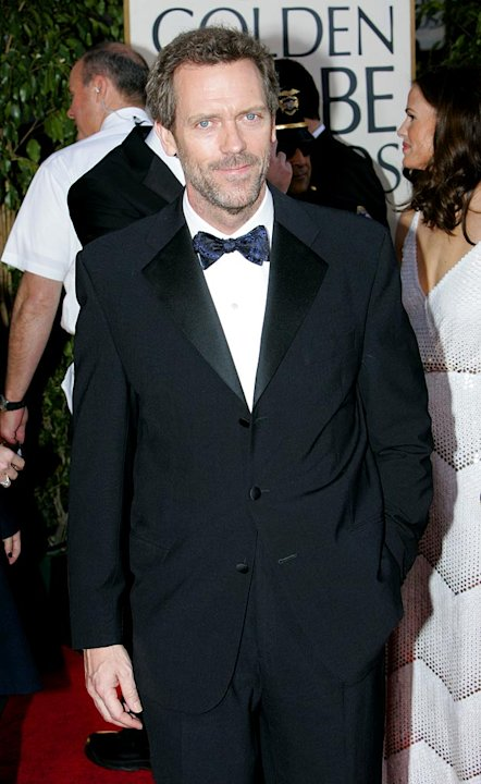 Hugh Laurie at the 64th annual Golden Globe Awards.