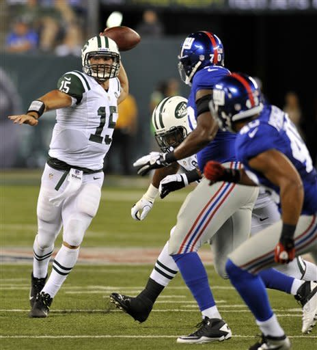 Giants stifle Sanchez, Tebow in 26-3 win vs. Jets