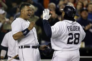 Fielder, Scherzer lift Tigers over Twins 4-3