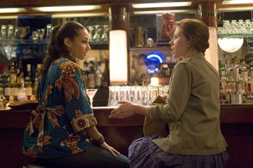 Alicia Keys and Scarlett Johansson in The Weinstein Company's The Nanny Diaries
