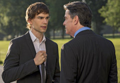 Christopher Gorham, Peter Gallagher | Photo Credits: David Giesbrecht/USA Network