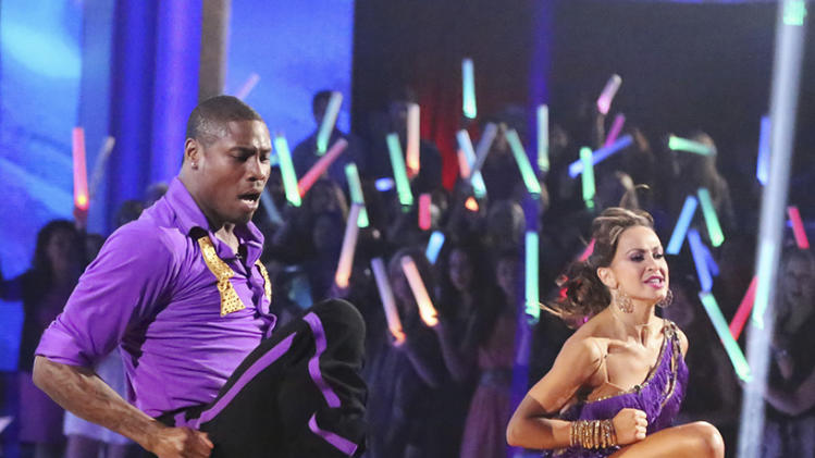 Jacoby Jones and Karina Smirnoff (3/18/13)