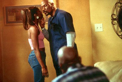 Juanita ( A.J. Johnson ) and Melvin ( Ving Rhames ) try and run a household while 'baby boy' Jody ( Tyrese Gibson ) still lives under their roof in Columbia's Baby Boy