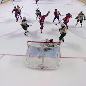 Max Pacioretty backhands it past Rask