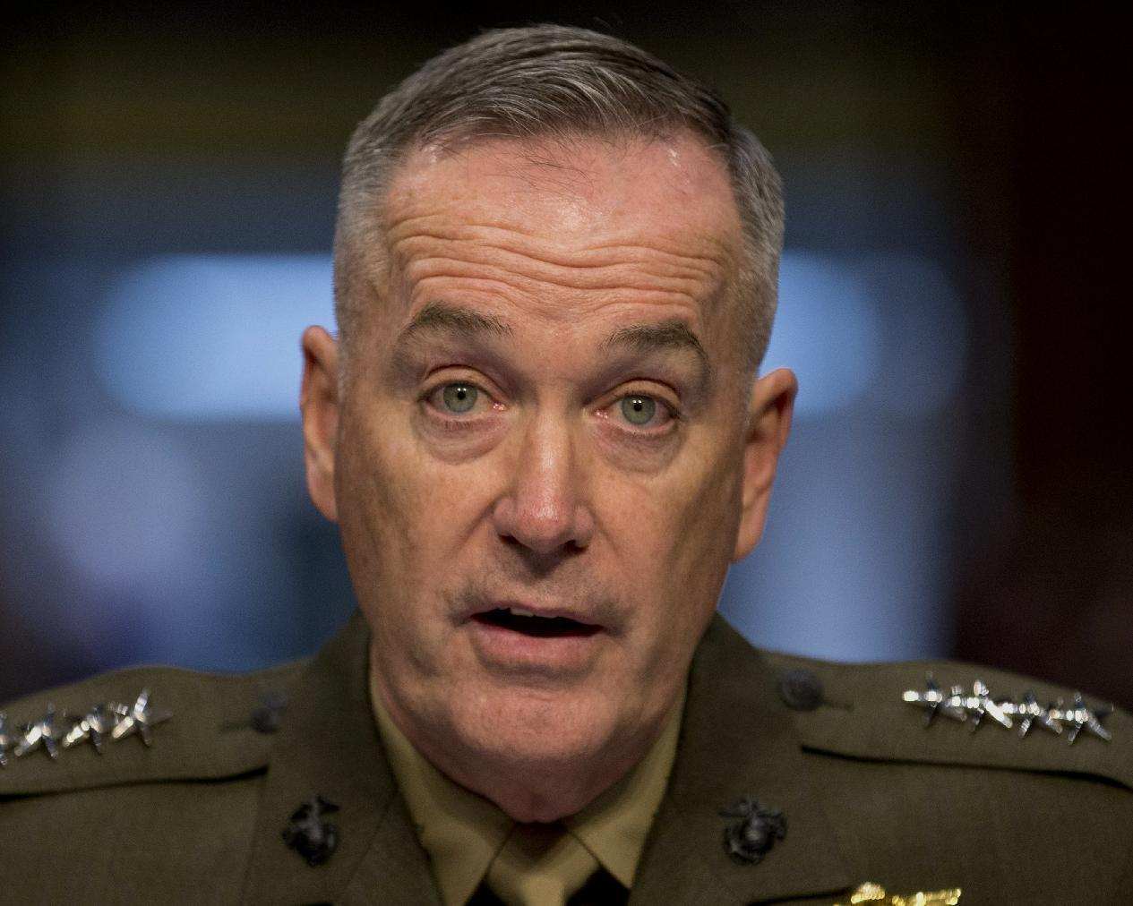 Obama chooses Marine general as Joint Chiefs chairman