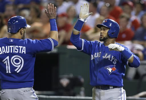 Encarcion lifts Blue Jays to 3-1 win over Rangers