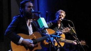 Glen Hansard, Iron & Wine's Sam Beam Enliven KCRW Crowd at Sayers Club