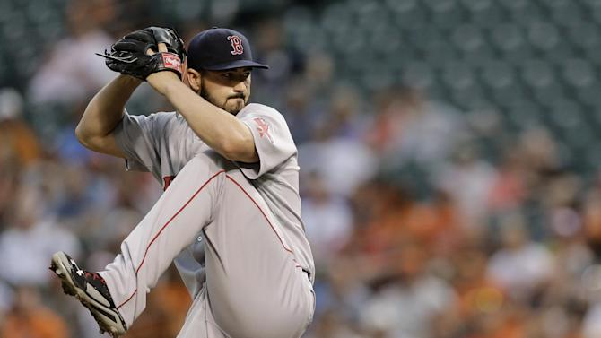 Workman allows 1 hit as Red Sox beat Orioles 1-0