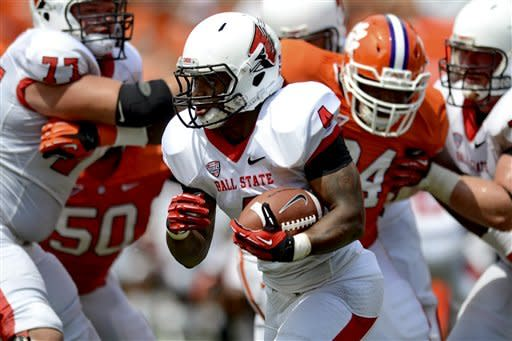 No. 12 Clemson powers past Ball State 52-27