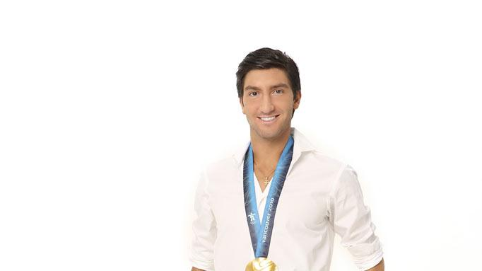 "Figure skating Olympic gold medalist Evan Lysacek will compete on the tenth season of ""Dancing With the Stars."""
