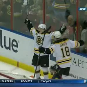 Krug shows off his soft hands for pretty goal