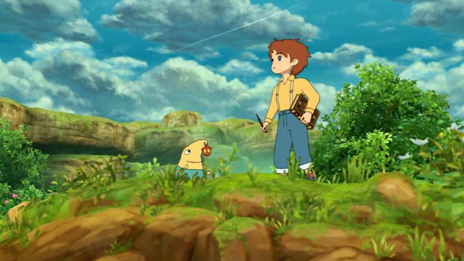 """This video game image released by Namco Bandai shows a scene from """"Ni no Kuni: Wrath of the White Witch."""" (AP Photo/Namco Bandai)"""