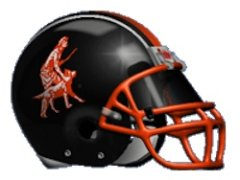 The Cooperstown Central Redskins helmet — Mascotdb.com