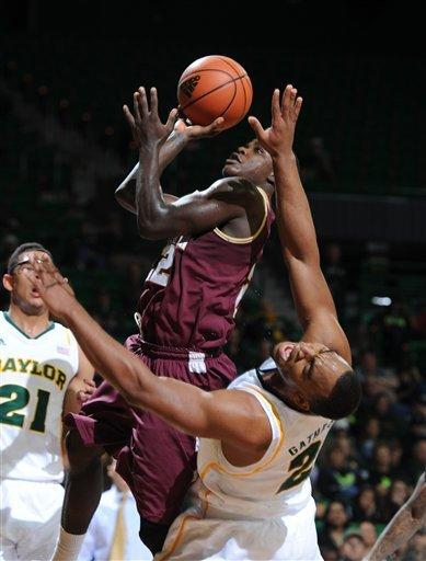 Charleston pulls off 63-59 upset at No. 24 Baylor