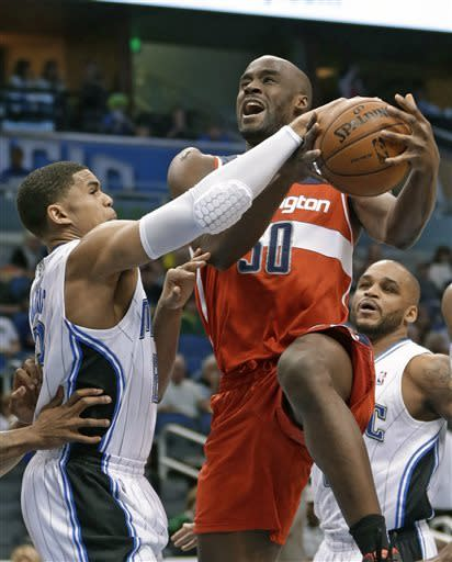 Harris helps Magic break skid, 97-92 over Wizards