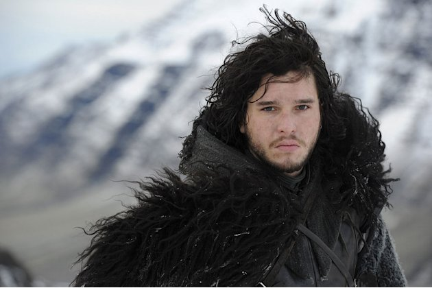 "Kit Harrington as Jon Snow in ""Game of Thrones."""
