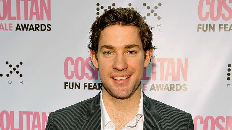 John Krasinski arrives at the 2008 Cosmo's Fun Fearless Male Awards. -  March 3, 2008