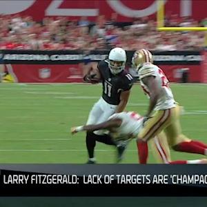 NFL NOW: Larry Fitzgerald's 'Champagne Problems'
