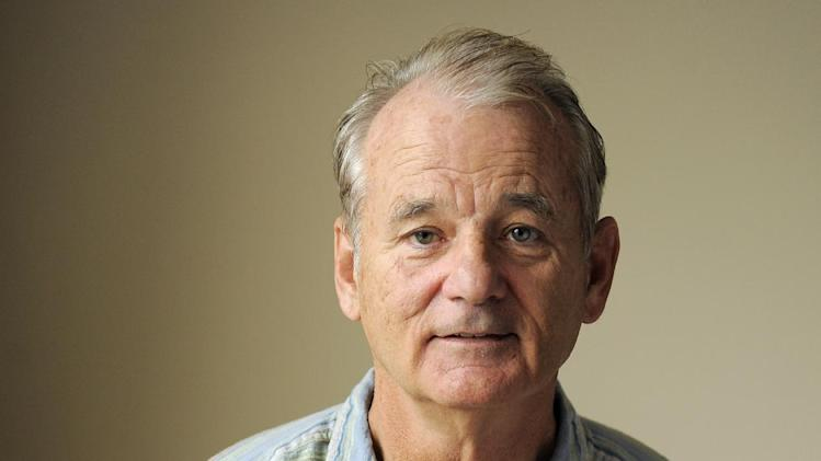 "FILE - In this Sept. 9, 2012 file photo, Bill Murray, a cast member in the film ""Hyde Park on Hudson,""  poses for a portrait at the 2012 Toronto Film Festival, in Toronto. (Photo by Chris Pizzello/Invision/AP, File)"