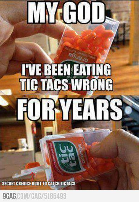 You've Been Eating Tic Tacs Wrong [VIDEO]