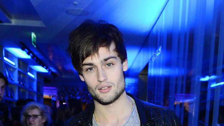 Actor Douglas Booth seen at The Premiere of Intel & W Hotels' Four Stories on Tuesday, Nov. 27, 2012, W Hotel, London. (Photo by Jon Furniss/Invision for Intel/AP Images)