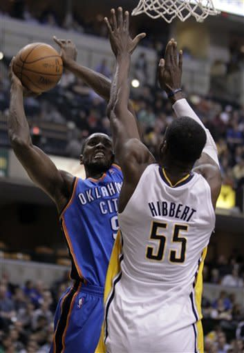 Granger leads Pacers past Thunder