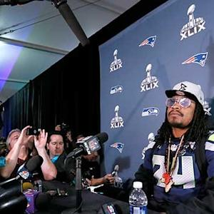 Why is Seattle Seahawks running back Marshawn Lynch the way he is?