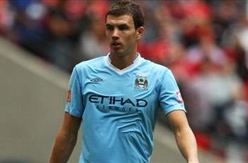 Manchester City demands 31.5m euros for Dzeko as negotiations with AC Milan continue to stall