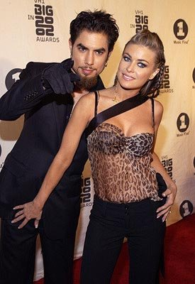 Dave Navarro and Carmen Electra