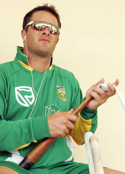 SAINT KITTS AND NEVIS - MARCH 14:  Mark Boucher of South Africa in action during a South Africa World Cup nets session and press call, on March 14, 2007 in Saint Kitts, West Indies. (Photo by Duif du