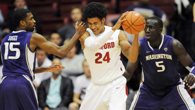 NCAA Basketball: Washington at Stanford