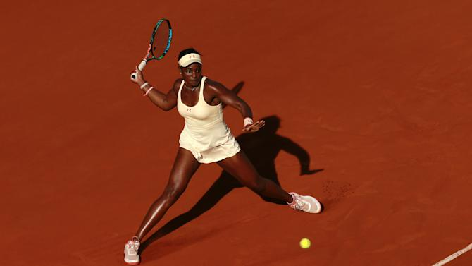 TEN: Womens Singles - USA's Sloane Stephens in action during the third round